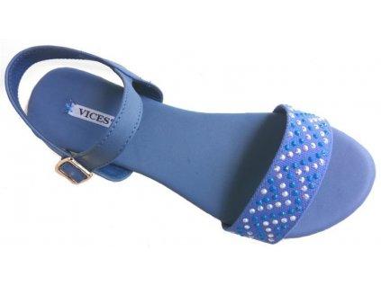 Dámské sandály Vices 4098-11 tm. modré