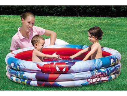 Bestway 98006 Nafukovací dětský bazén ''Spider-Man'' 152 x 30 cm
