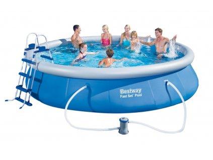 Zahradní bazén 457x91 cm Bestway 57282 SET