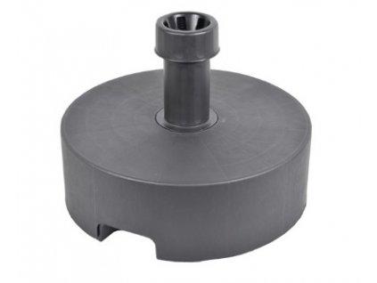 Kruhový stojan podstavec na slunečník barva - šedá