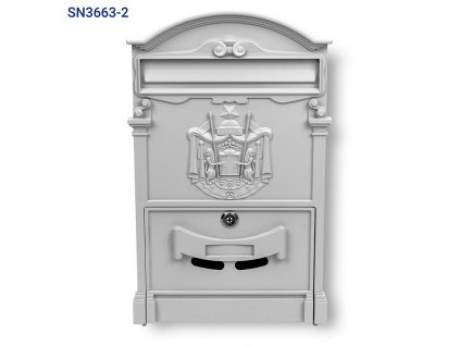 Poštovní schránka SN 3663-2 šedá