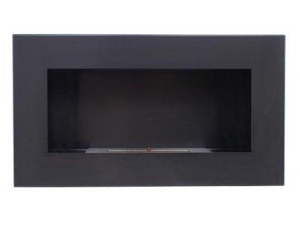 Biokrb KRATKI DELTA2 900x400 černý  + okrasné kameny a vůně zdarma