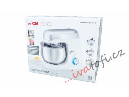 Kuchyňský robot hnětač Clatronic KM 3709 1000 W bílý