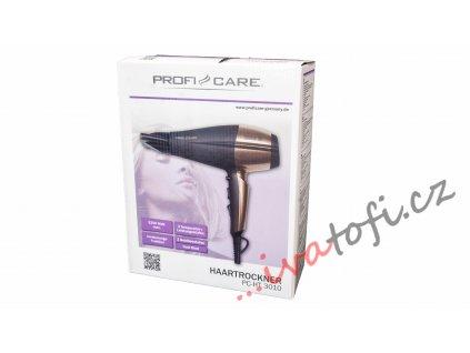 Vysoušeč vlasů ProfiCare HT 3010 bronz