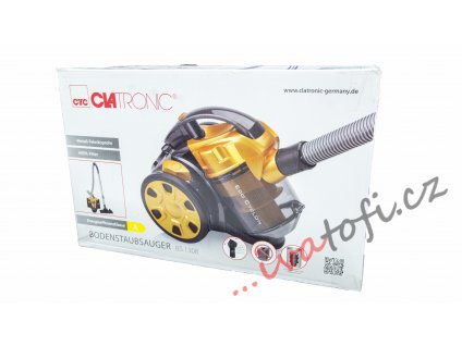 Bezsáčkový vysavač Clatronic BS 1308 žlutý