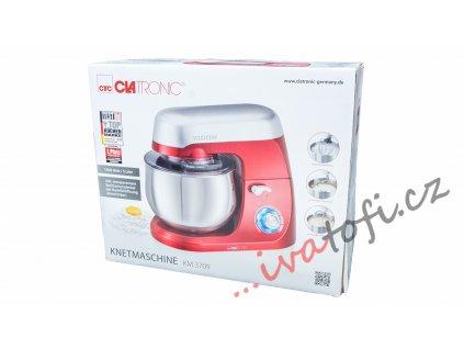 Kuchyňský robot hnětač Clatronic KM 3709 1000 W červený