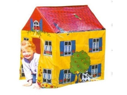 Dětský stan farmářský domek 95x72x102 cm 8705