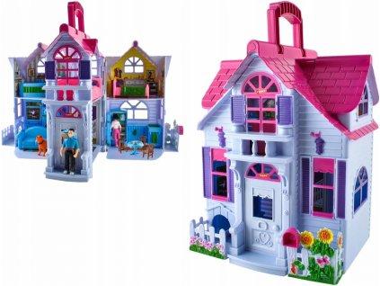 My sweet home 6079 Rozkládací domeček pro panenky 6 místností