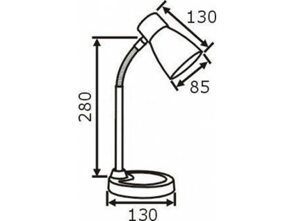 Stolní lampa SN 915 černá