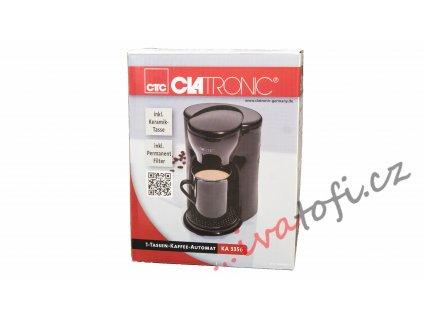 Kávovar na 1 šálek Clatronic KA 3356