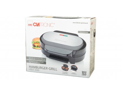 Hamburgerový gril Clatronic HBM 3696