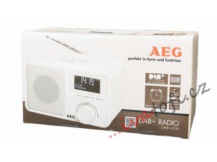 Stolní rádio AEG DAB+ 4154 bílé