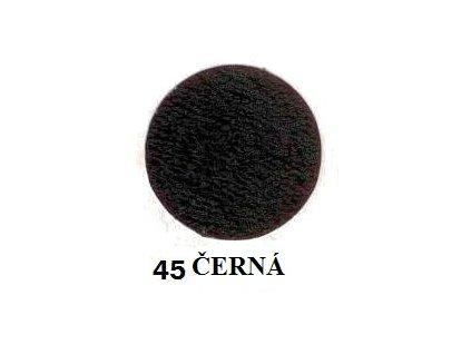 Froté prostěradlo 90/200 cm barva černá