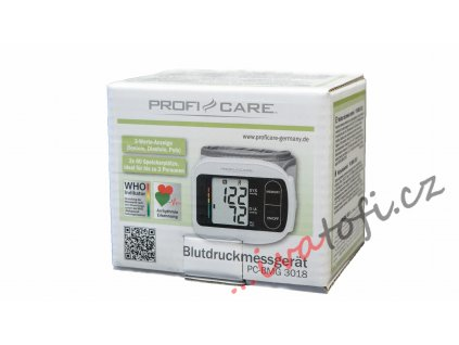 Digitální zápěstní tlakoměr ProfiCare - BMG 3018