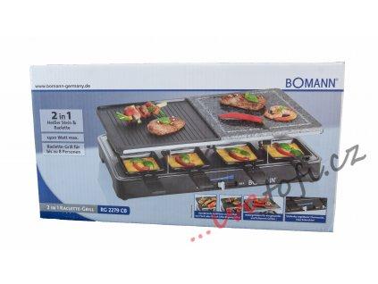 Elektrický raclette gril Bomann RG 2279