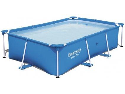 Rodinný bazén s konstrukcí Bestway Steel Pro Frame 2,59 x 1,7 x 0,61 m 56403