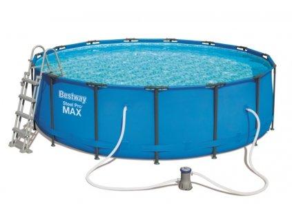 Bazén Bestway Steel Pro Frame 4,57 x 1,22 m 56438