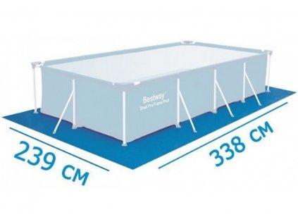 BESTWAY 58101 podložka pod bazén 3,38 x 2,39 m