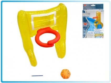 Nafukovací basketbalový koš a míč BESTWAY 58170