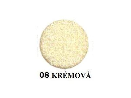 Froté prostěradlo 90/200 cm barva krémová