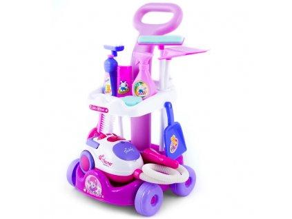 KINDERPLAY Dětský úklidový vozík