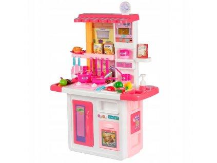 KINDERPLAY Dětská kuchyňka růžová 688-2