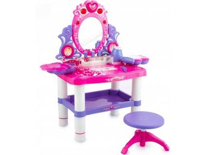 Kinderplay toaletní stolek dětský s líčením malá parádnice