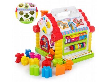 Kinderplay vzdělávací kostka Kouzelný dům KP7766