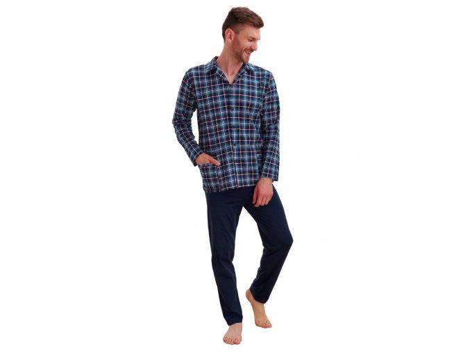 Pánské vzorované pyžamo Gracjan Taro