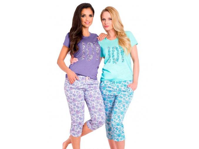Dámské pyžamo Cleo s nápisem Joy Taro