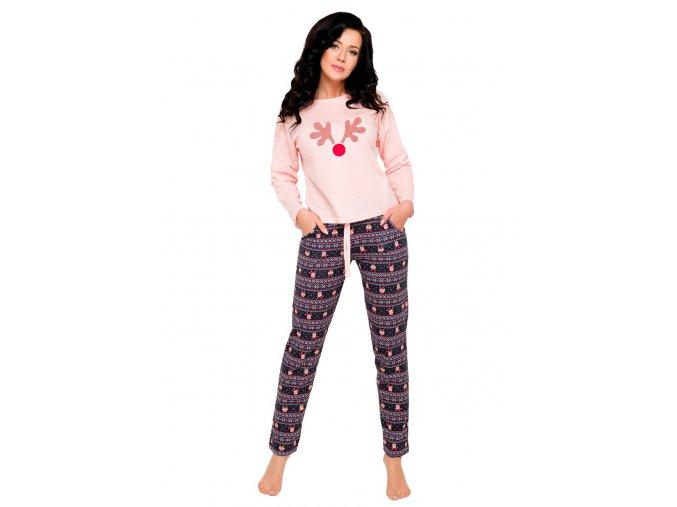 Dámské pyžamo Nadia s obrázkem soba Taro