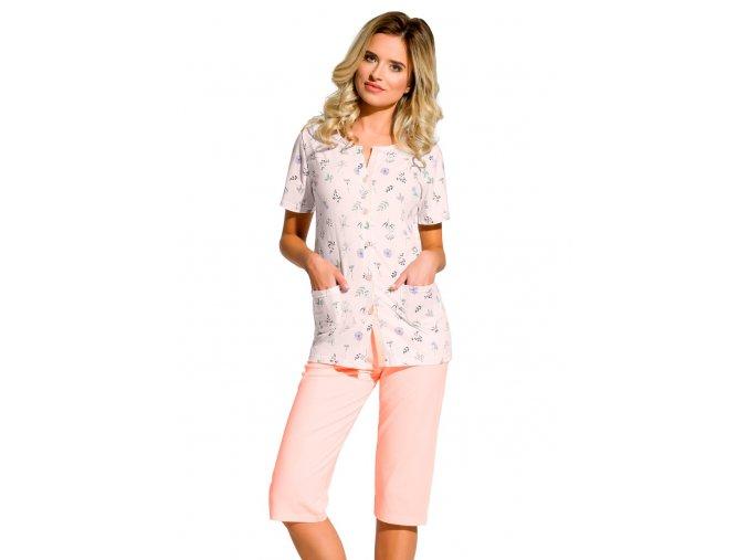 Dámské pyžamo Fabia se vzorem drobných květů Taro