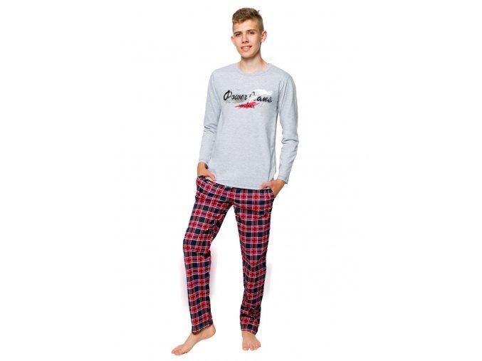 Chlapecké pyžamo Mariusz s nápisem Power Jeans Vintage Taro