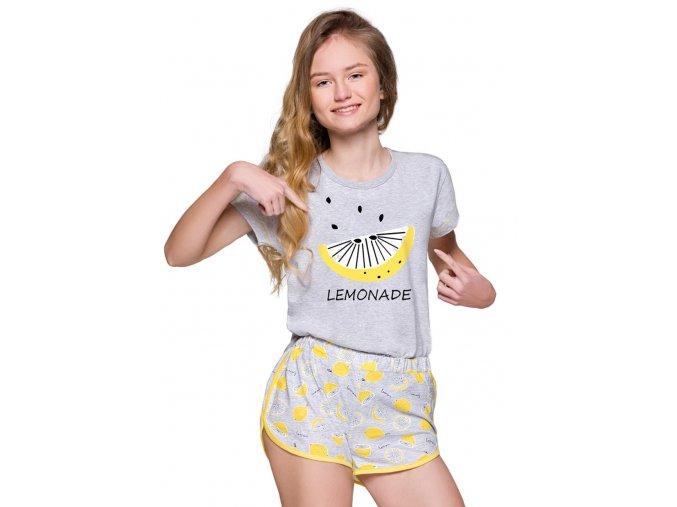 Dívčí pyžamo Nessa s obrázkem a nápisem Taro