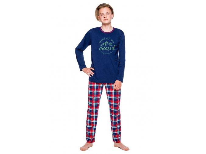 Chlapecké pyžamo Leo se vzorem kostky Taro