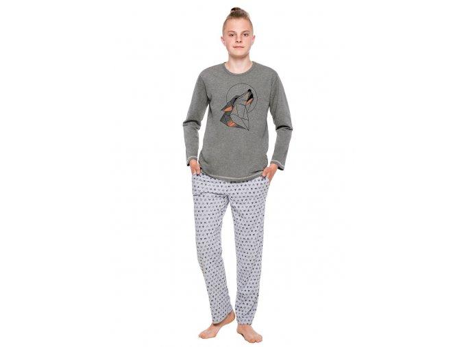 Chlapecké pyžamo Czarek s obrázkem vlka Taro