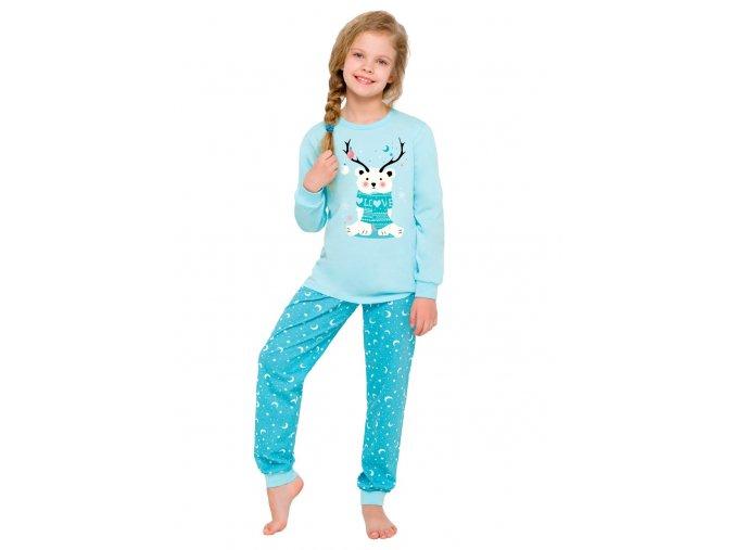 Dívčí pyžamo Ada s obrázkem ledního medvěda Taro
