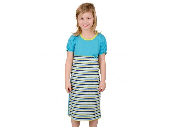 Dívčí noční košile se vzorem proužků Taro