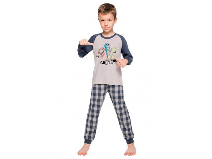 Chlapecké pyžamo Gawel se vzorem kostky Taro