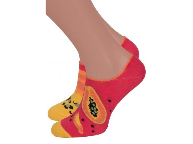 Dámské nízké ponožky 005 MORE
