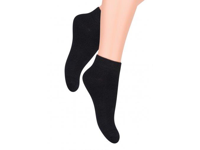 Chlapecké kotníkové ponožky jednobarevné 004 Steven