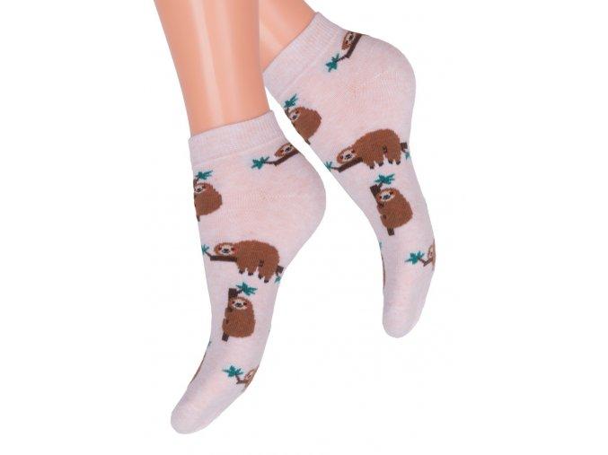 Dívčí kotníkové ponožky 004/144 STEVEN