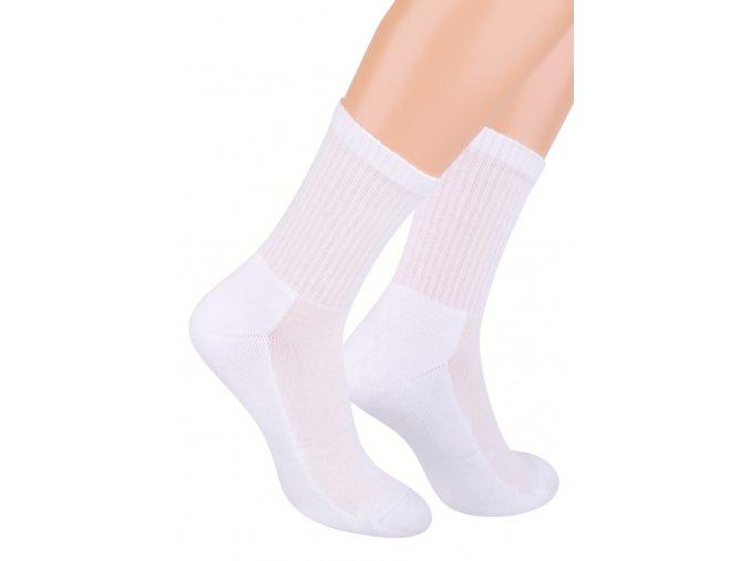 Pánské klasické ponožky polofrofé jednobarevné 009 Steven