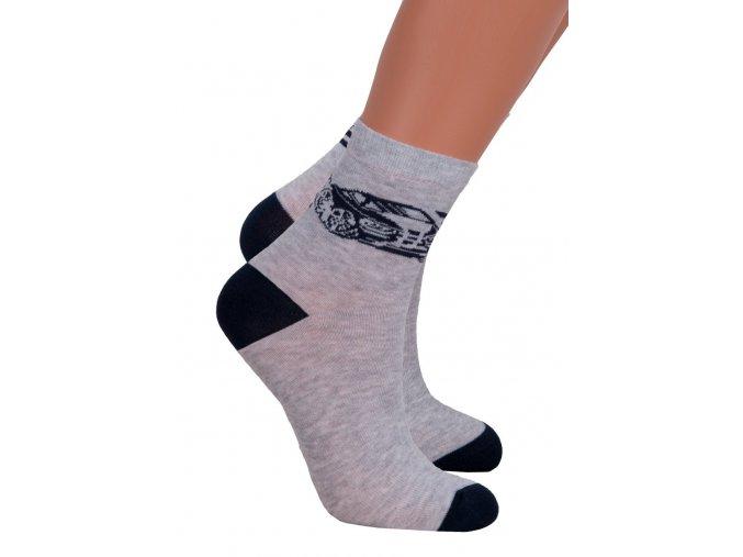 Chlapecké klasické ponožky 014/301 Steven