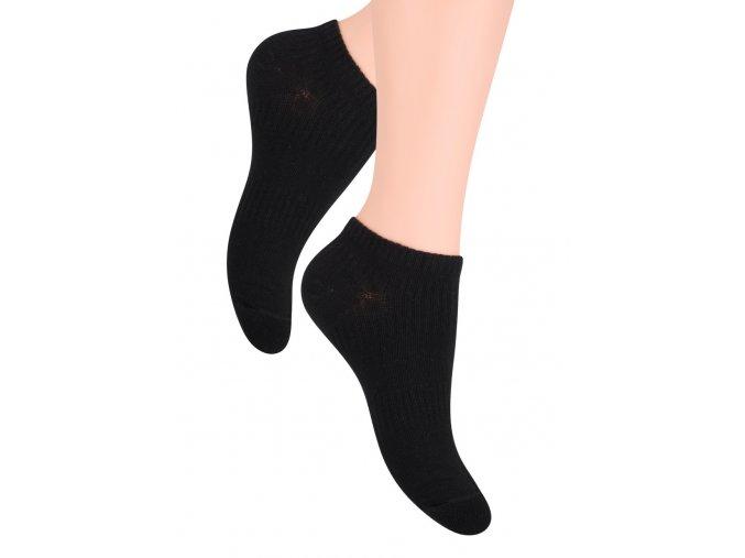 Pánské nízké ponožky jednobarevné 024 Steven