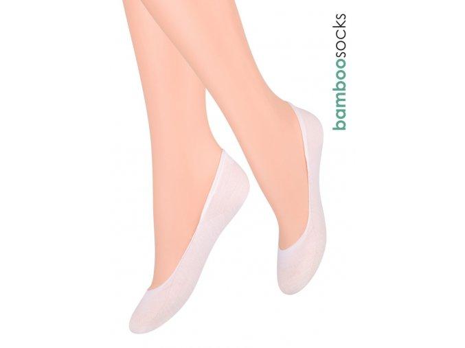 Dámské ponožky Balerinky z bambusové příze 029 STEVEN