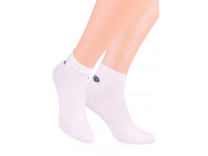 Pánské kotníkové ponožky sport jednobarevné 046 STEVEN