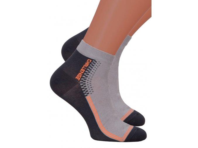 Pánské kotníkové ponožky 054/098 STEVEN