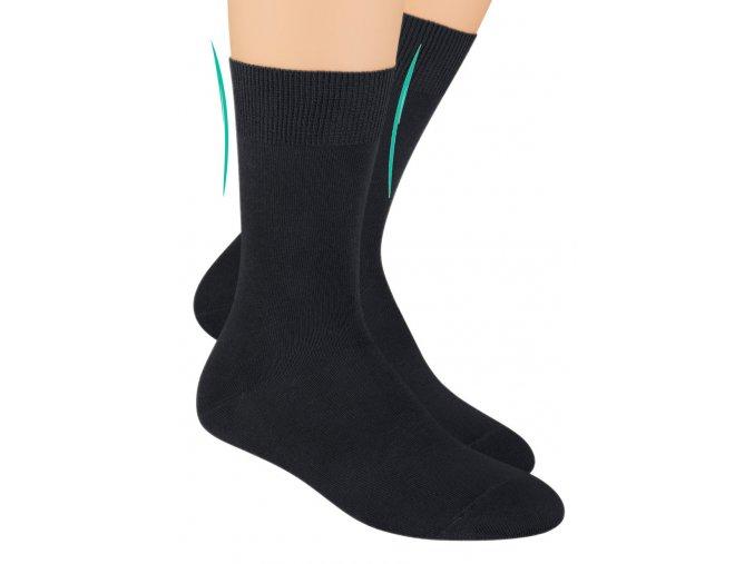 Pánské zdravotní ponožky s lemem 055 STEVEN