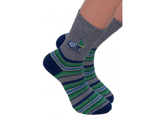 Pánské oblekové ponožky 056 STEVEN